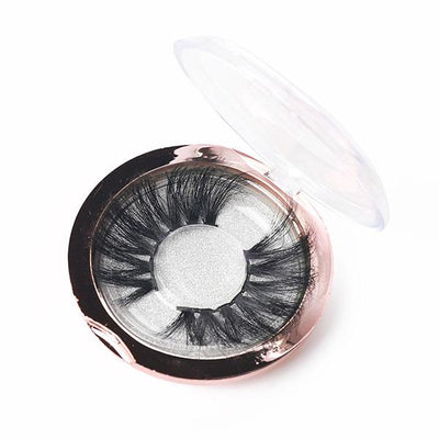 Mink Eyelashes 25mm Lashes Makeup Thick 5D Mink False Eyelashes 100% Hand Made Eyelash
