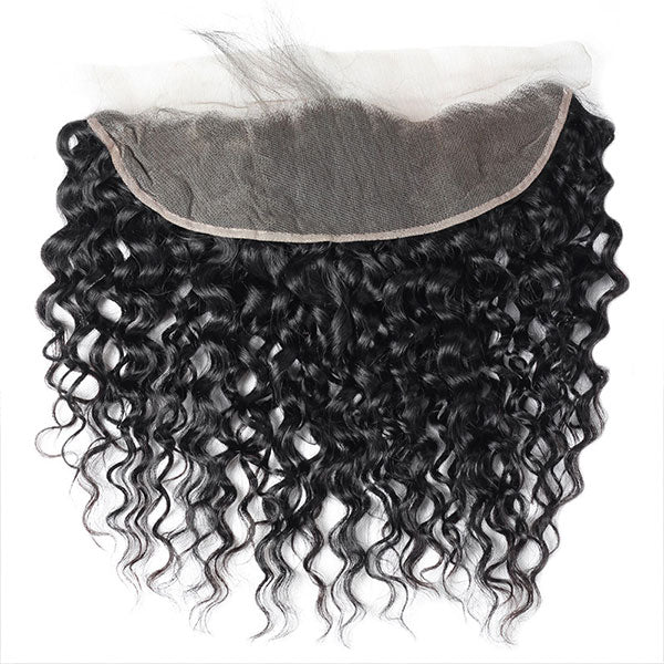 Ishow Water Wave 13*4 Ear To Ear Lace Closure Unprocessed Water Wave Human Hair