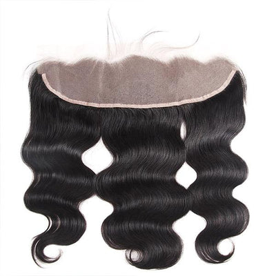 Transparent Lace Frontal 13*4 Virgin Human Hair Body Wave Lace Frontal