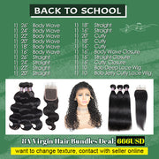 $666 BACK TO SCHOOL DEAL (20 Pc 8A Hair)