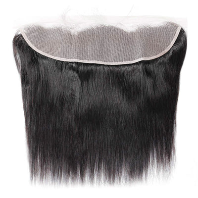 Hairsmarket Transparent Lace Frontal 100% Virgin Straight Human Hair Lace Frontal