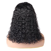 Hairsmarket Water Wave Bob Lace Front Wigs 150% Density