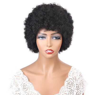 Hairsmarket Virgin Straight Bob Human Hair Lace Wigs Short Style For Black Woman