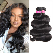 Meetu 8A Malaysian Body Wave 3 Bundles Deal Unprocessed Virgin Hair Extension
