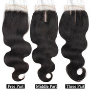 8A Ishow Body Wave Hair Buy 3 Bundles Get 1 FREE Closure