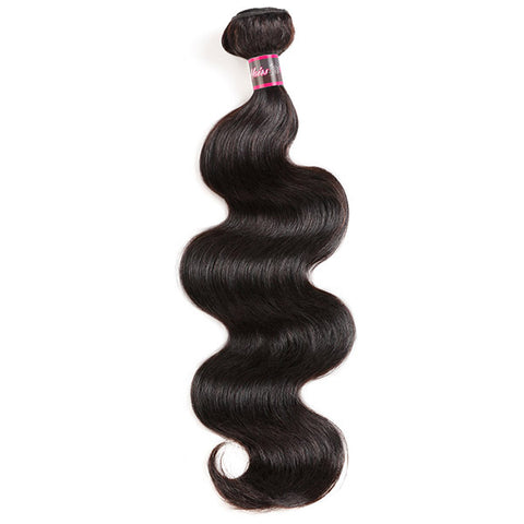 Hairsmarket Body Wave Brazilian Virgin Hair 3 Bundles With 13x4 Lace Frontal Closure