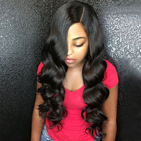 Ishow Brazilian Body Wave 4 Bundles Unprocessed Human Hair Weave