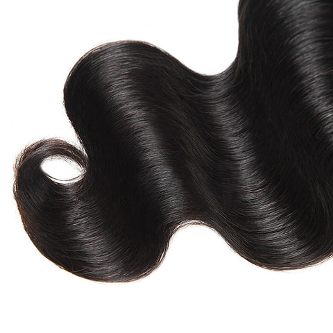 Allove 9A Brazilian Virgin Hair Body Wave 4 Bundles 100% Human Hair Weave For Sale