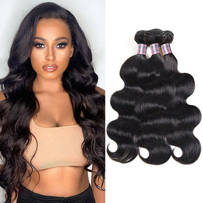 Ishow Hair Malaysian Body Wave Virgin Hair 3 Bundles Human Hair Extensions