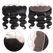 13*4 Lace Wigs Customized By Virgin Remy Body Wave Hair With Lace Frontal