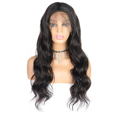 Hairsmarket 150% Density Brazilian Hair 360 Body Wave Human Hair Wigs