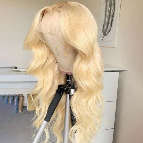 Hairsmarket 613 Blonde Lace Part Wig Body Wave Human Hair Wigs