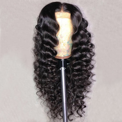 13*4 Loose Deep Lace Front Wigs 100% Virgin Human Hair Wigs
