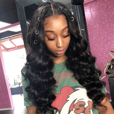 Ishow Peruvian Virgin Hair Bundles Loose Wave Human Hair 4Pcs/Pack