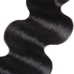 Allove 8A Brazilian Body Wave Hair 3 Bundles 100% Human Hair