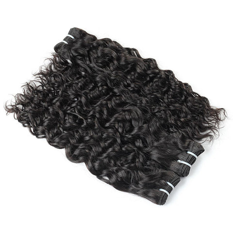 Brazilian Water Wave Human Hair Weave 10A Quality 100% Virgin Hair