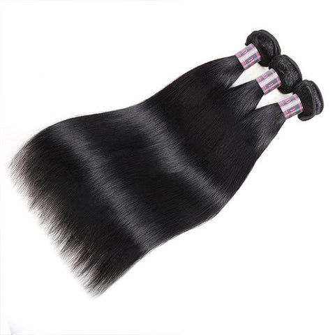 Ishow Malaysian Virgin Hair Straight Hair 3 Bundles Human Hair Weaves