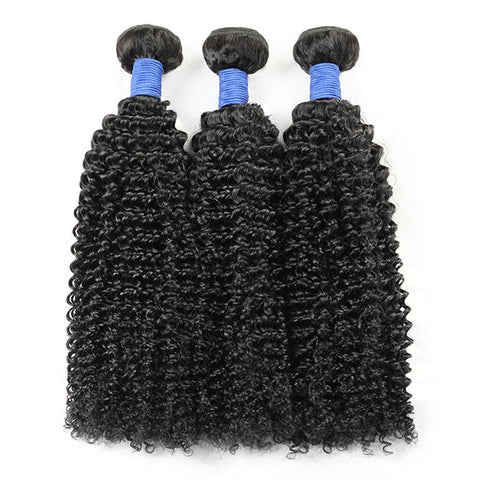 Kinky Curly Hair With Lace Closure 10A Unprocessed Virgin Human Hair 4*4 Customized Lace Wigs