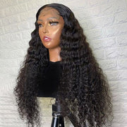Curly Lace Closure Wigs 5*5 Closure Wigs Transparent Lace Wigs
