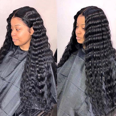 Ishow Virgin Malaysian Hair Deep Wave Hair Extensions 4 Bundles