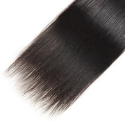 Allove 9A Virgin Brazilian Hair 4 Bundles Unprocessed Straight Hair Extensions