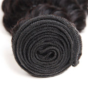 Allove 8A Brazilian Virgin Human Hair 3 Bundles Deep Wave Hair