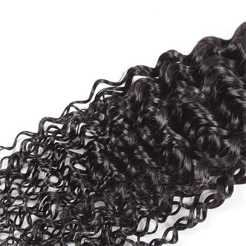 Meetu 8A Virgin Brazilian Kinky Curly Human Hair 3 Bundles Unprocessed Human Hair Extensions