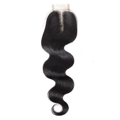 9A Quality Allove Body Wave Hair 2*4 Lace Closure
