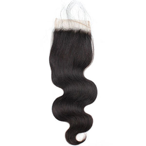 Ishow Virgin Body Wave Human Hair 4x4 Lace Closure