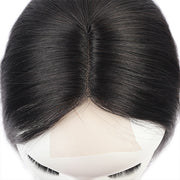 2*3 Straight Lace Closure, Middle Part Machine Made Lace Closure