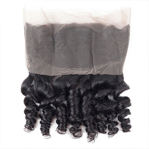 Ishow Hair 360 Lace Frontal Closure Loose Wave Virgin Hair Pre-plucked Lace Frontal