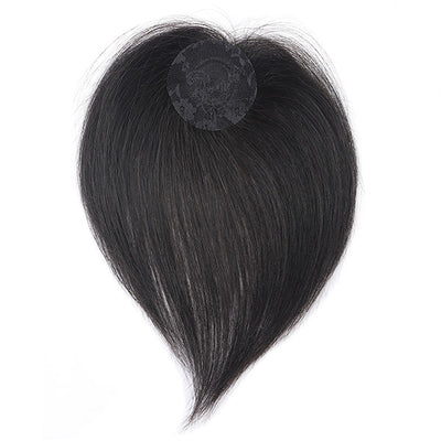 Machine Made Hair Topper, Cycle Closure Without Lace