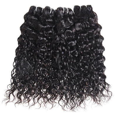 Ishow Hair Brazilian Water Wave 3 Bundles Human Hair Extensions