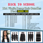 $ 869 BACK TO SCHOOL DEAL (20 Pc 10A Hair)