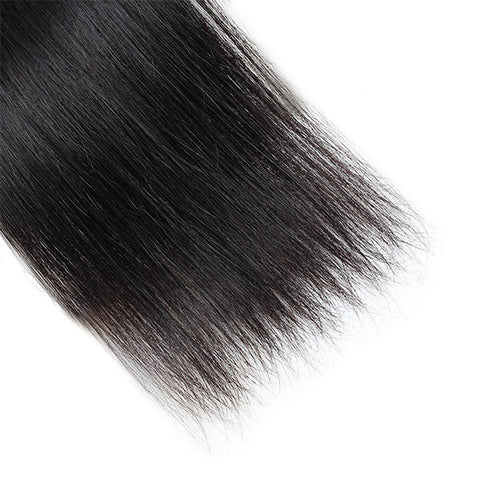 Ishow Hair Indian Virgin Straight Hair 3 Bundles Human Hair Extensions