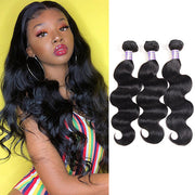 9A Allove Brazilian Virgin Body Wave Human Hair 3 Bundles