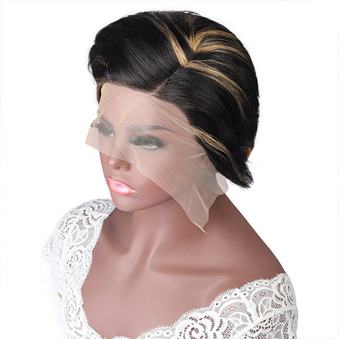 Hairsmarket Pixie Lace Wigs 100% Human Hair Wigs