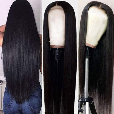 Hairsmarket Brazilian Hair 360 Straight Lace Frontal Wig, Tpart Human Hair Wigs