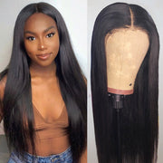 Hairsmarket 13*4 Lace Part Wigs Virgin Straight Human Hair Wigs