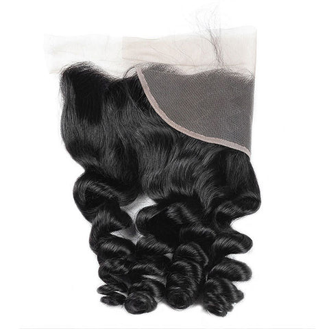 Ishow 8A Loose Wave Lace Frontal 13*4 Lace Closure 100% Human Hair