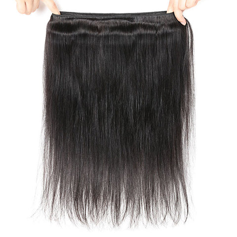 Hairsmarket- Allove 8A Brazilian Virgin Straight Hair 3 Bundles 100% Human Hair Remy Straight Hair Weave Bundles