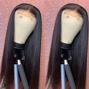 Hairsmarket 4*4 Lace Closure Wigs Straight Human Hair Wigs