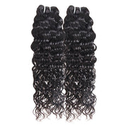 Ishow Hair 2 Bundle Water Wave Virgin Human Hair Extensions