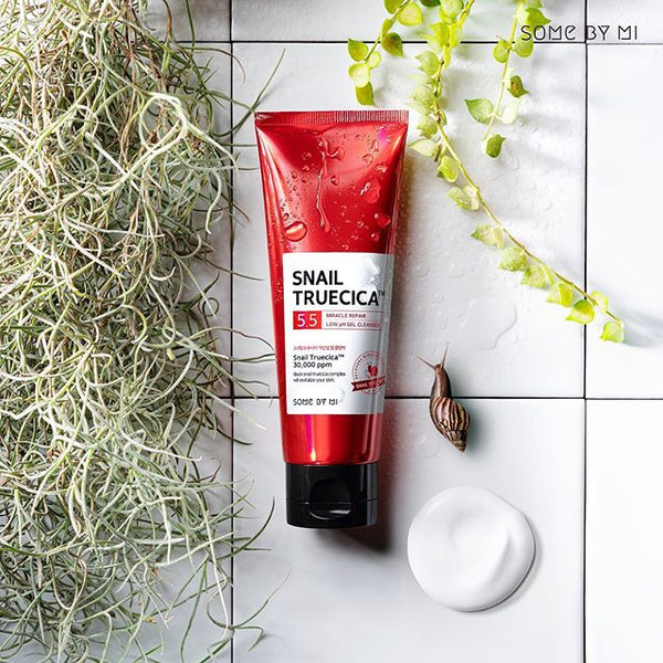 Snail Truecica Miracle Repair Low pH Gel Cleanser - Douxskin