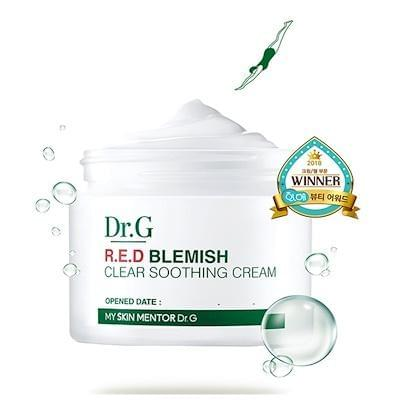 R.E.D Blemish Clear Soothing Cream - Douxskin