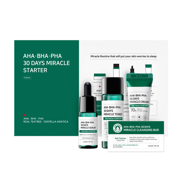 AHA.BHA.PHA 30 Days Miracle Starter Kit - Douxskin