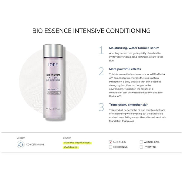 BIO ESSENCE INTENSIVE CONDITIONING - Douxskin