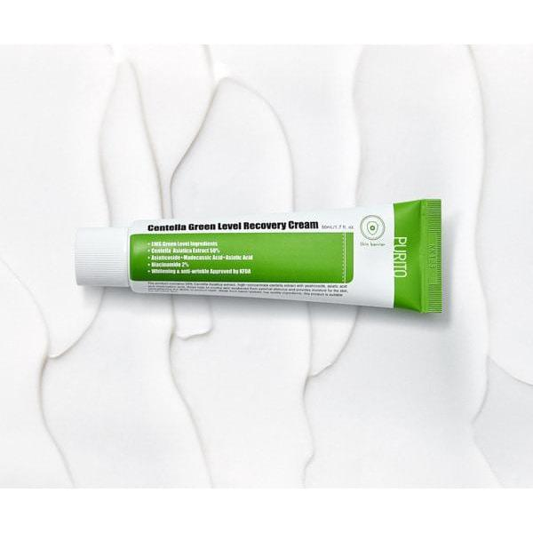 Centella Green Level Recovery Cream - Douxskin
