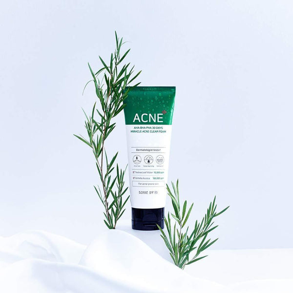 AHA BHA PHA 30 DAYS MIRACLE ACNE CLEAR FOAM - Douxskin