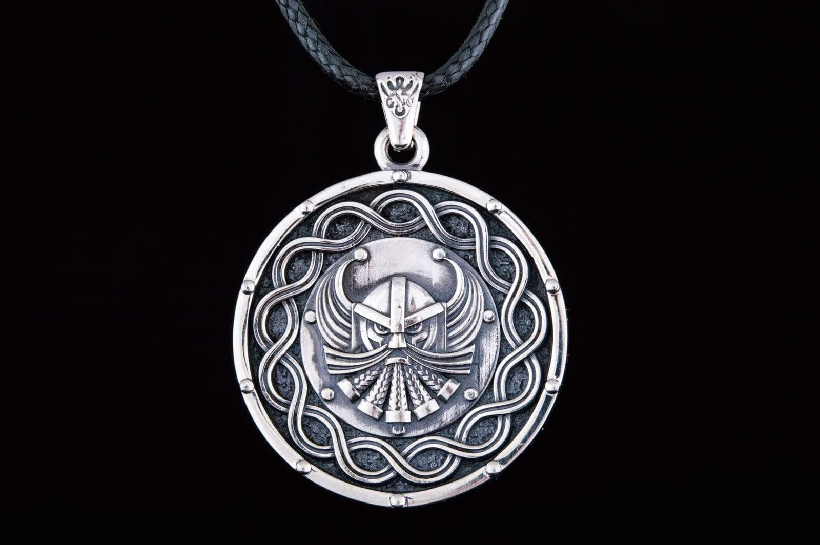 Viking Pendant Sterling Silver Handmade Jewelry